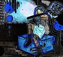 Blue Girl by Kristina Drinkwater