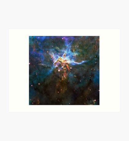 God's Domain | Mathematix by Sir Douglas Fresh Art Print