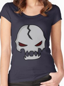 Murderous Miguel Skull Women's Fitted Scoop T-Shirt