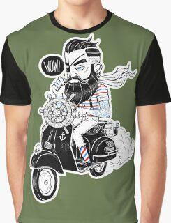 Vespa : Enjoy The Ride Graphic T-Shirt