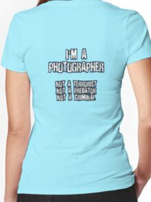 Funny Photographer Shirt Women's Fitted V-Neck T-Shirt