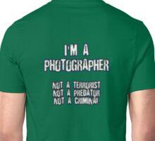 Funny Photographer Shirt Unisex T-Shirt