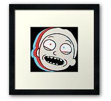 Rick and Morty: Morty Shirt Framed Print