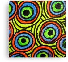 Abstract Fluoro 6  Canvas Print