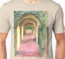 Arches of Mission Concepción Unisex T-Shirt