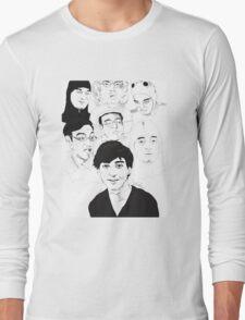 Filthy Frank Sketch Art Long Sleeve T-Shirt