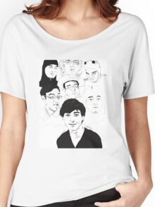 Filthy Frank Sketch Art Women's Relaxed Fit T-Shirt