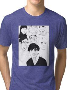 Filthy Frank Sketch Art Tri-blend T-Shirt