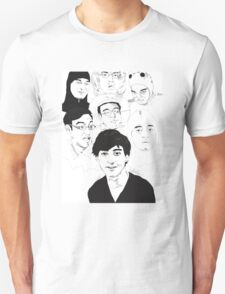 Filthy Frank Sketch Art Unisex T-Shirt