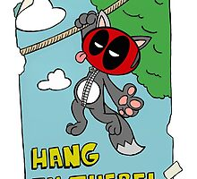 Hang in there by joshatomic