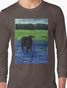 Lone Star Cow Long Sleeve T-Shirt