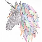 Dotted Unicorn by Devi Senthil