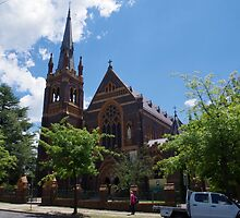 St Mary and Joseph's Cathedral Armidale by Paul Chubb