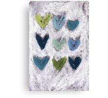 Happy Hearts No. 6 Canvas Print