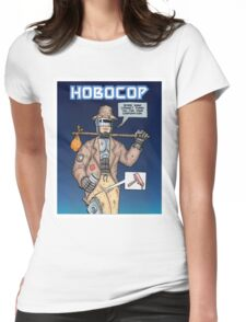 Hobocop Womens Fitted T-Shirt