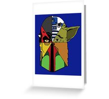Star Wars Collage Greeting Card