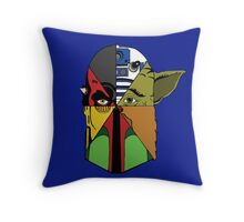 Star Wars Collage Throw Pillow