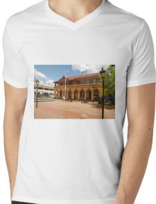 Armidale Post Office Mens V-Neck T-Shirt