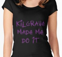 Kilgrave Made Me Do It Women's Fitted Scoop T-Shirt