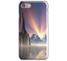 Alien Planet - Fantasy Landscape iPhone Case/Skin