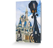 Castle View Greeting Card
