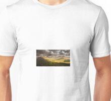 Dawn Cloudy Landscape Nature Fine Art Photography 0001 Unisex T-Shirt