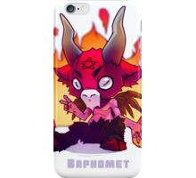 Baby Baphomet iPhone Case/Skin