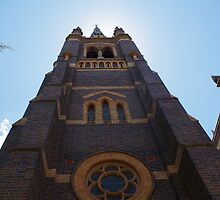 St Mary and Joseph's Cathedral, Armidale by Paul Chubb