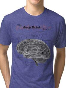 Aircraft Mechanics Brain - Black Tri-blend T-Shirt