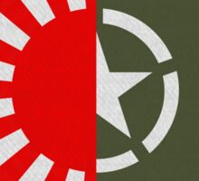 Rising Storm/Red Orchestra 2  U.S. Japanese Circle Sticker