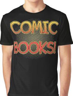 Comic Books T Shirt Graphic T-Shirt