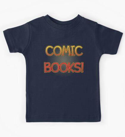 Comic Books T Shirt Kids Tee
