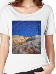 Rocky Mountain Magic Sky Nature Fine Art Photography 0004 Women's Relaxed Fit T-Shirt