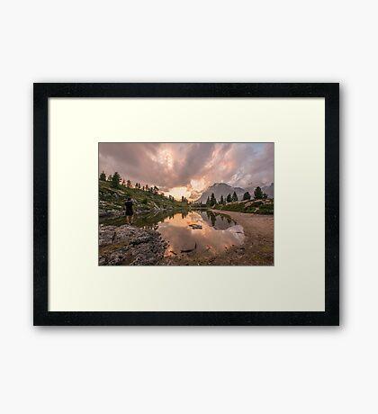 Forest River Nature Fine Art Photography 0005 Framed Print