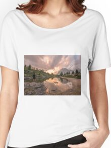 Forest River Nature Fine Art Photography 0005 Women's Relaxed Fit T-Shirt