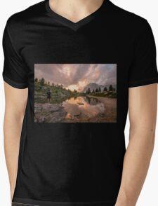 Forest River Nature Fine Art Photography 0005 Mens V-Neck T-Shirt