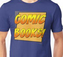Retro Comic Books T Shirt Unisex T-Shirt