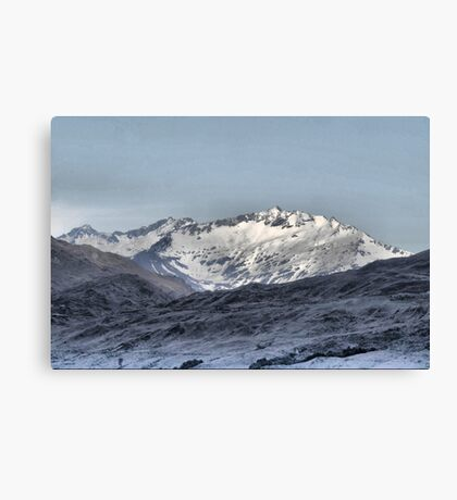 From the Crown Range Road  ( 3 ) Canvas Print