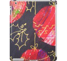 Xmas Card Design 11  iPad Case/Skin