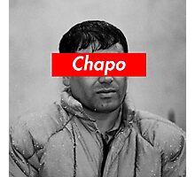 EL CHAPO x SUPREME BOX LOGO Photographic Print