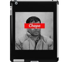 EL CHAPO x SUPREME BOX LOGO iPad Case/Skin