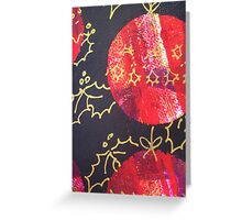 Xmas Card Design 10  Greeting Card