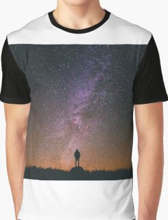 Night Sky Nature Fine Art Photography 0011 Graphic T-Shirt