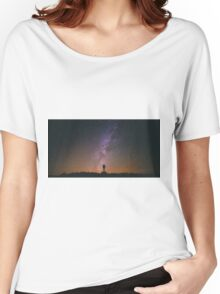 Night Sky Nature Fine Art Photography 0011 Women's Relaxed Fit T-Shirt