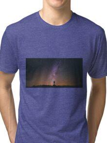 Night Sky Nature Fine Art Photography 0011 Tri-blend T-Shirt
