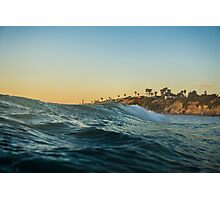 Riding Waves Ocean Nature Fine Art Photography 0012 Photographic Print