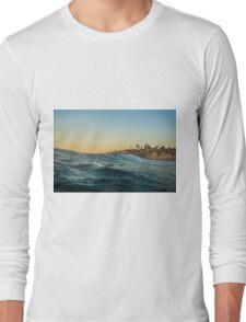 Riding Waves Ocean Nature Fine Art Photography 0012 Long Sleeve T-Shirt