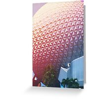 Vintage EPCOT Greeting Card