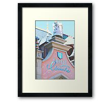 Castle Couture Framed Print