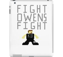Fight Owens Fight iPad Case/Skin
